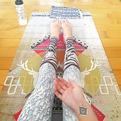 Bohemian prints! New Prism Yoga Mat by La Vie Boheme Yoga