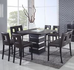 Counter Height Dining Set Essentials Leaf Counter Height