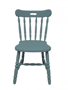 Inchyra blue - Painted Wooden Chair in any Farrow and Ball colour