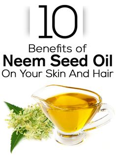42 Amazing Benefits Of Neem Oil for Skin And Hair Top 10 Benefits of Neem Seed Oil On Your Skin And Hair : Neem is an amazing gift from nature! It offers unbeaten and medically proven health and beauty benefits. And the oil derived from neem seeds is ever Benefits Of Coconut Oil, Coconut Oil For Skin, Neem Benefits, Health Benefits, Organic Skin Care, Natural Skin Care, Natural Face, Organic Beauty, Natural Beauty