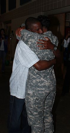 Charlotte N.C.-Members of the 505th Engineer Battalions, HHC and FSC arrived home on Friday April 19,2013.  They were welcomed at the Charlotte Armory by their families and loved ones.