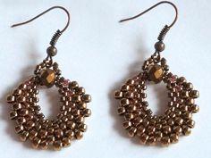 Bronze goal would be easy - SAShE.sk - Handmade Earrings