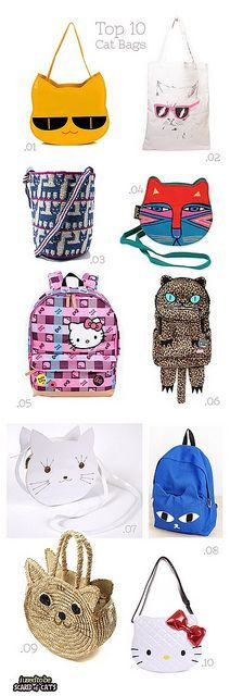 top 10 cat bags by I USED TO BE SCARED OF CATS #cat #bags