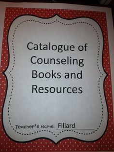School Counselor Rocks blog