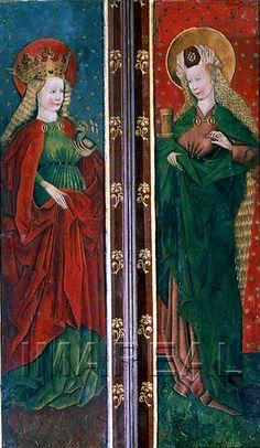 St. Mary Magdalene from a Steiermark altarpiece, c. 1475-1485