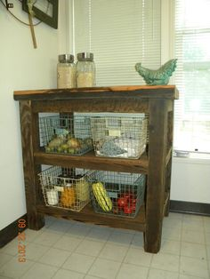 Reclaimed barnwood Kitchen piece... by BearMountainStore on Etsy, $225.00