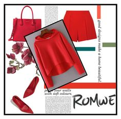"""Romwe"" by fernanda-div ❤ liked on Polyvore featuring Alice + Olivia, Michael Kors, Whiteley and Crate and Barrel"