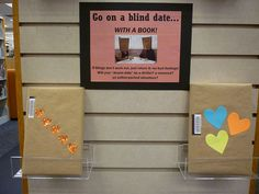 Blind Date with a Book Little Free Libraries, Free Library, Library Ideas, Library Displays, Book Displays, Cincinnati Library, Singles Events, Summer Reading Program, Blind Dates
