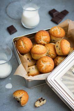 Petits muffins à l'amande et aux pépites de chocolat