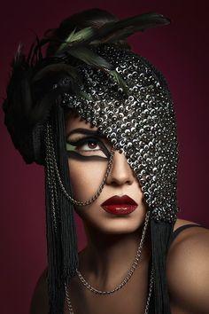 Photographer: Jennifer Winfrey Photography Headpiece: Posh Fairytale Couture Makeup: Rachel Sigmon Master Cosmetologist Model: Elidia Barragan