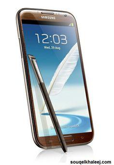 Samsung N7100 #GalaxyNote 2 (16 GB, WiFi, NFC, Brown -> http://www.souqelkhaleej.com/galaxy-star-18498.html