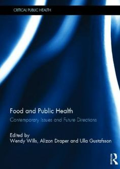This book focuses on food policy, and its relationship to public health, as an increasingly important issue in today's society. Contributors highlight the lack of global regulation in the food supply chain and explore the common tendency to leave regulation to markets and to individual consumer decisions.