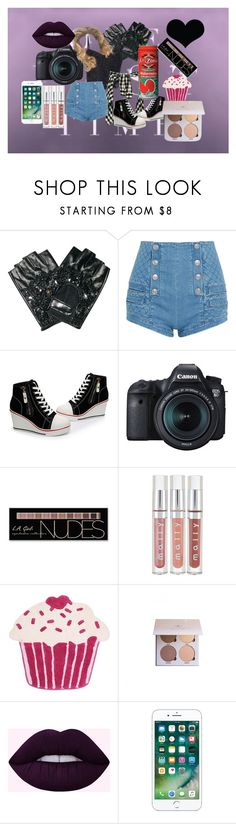 """What Did Ya Wanna SAY???!!!"" by fabsim on Polyvore featuring A-Morir by Kerin Rose, Lipsy, Pierre Balmain, Eos, Charlotte Russe, Thro, Anastasia Beverly Hills and Brika"