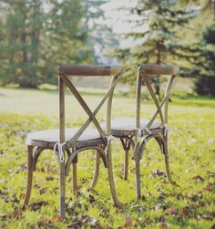 awesome vancouver wedding Perfect cross-back chairs for your guests #elopevancouver #elope #vancouver #vancouverelopement #vancity #love Photo Credit: @emily_nicole_photos by @elopevancouver  #vancouverwedding #vancouverwedding
