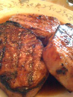 Apple-Brown Sugar Pork Chops