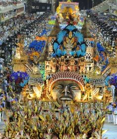 Go to the carnival, brazil