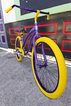 Lakers bike by Villy Custom  www.VillyCustoms.com