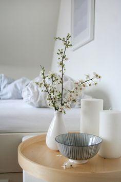 Schlafzimmer weiß Holz