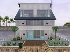 The Blue Peter house by Asmodeuseswife - Sims 3 Downloads CC Caboodle