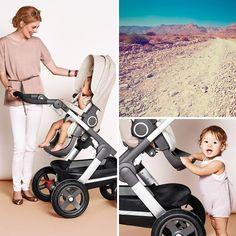 Ready for your summer adventures – all terrain Stokke Trailz stroller