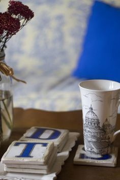 NOLA Tiles Coasters. Perfect for every coffee table.