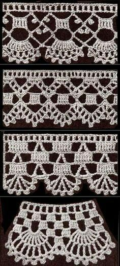 Single Crochet Stitch - Beginner Course: Lesson Learn how to single crochet stitch. The single crochet (sc) is the most common stitch used. Filet Crochet, Pull Crochet, Crochet Diy, Thread Crochet, Love Crochet, Crochet Stitches, Crochet Boarders, Crochet Edging Patterns, Crochet Lace Edging