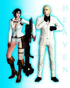 Heaven Team Lord x Lady by XxMileenaxX