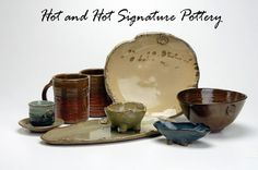 Congrats to Chris Hastings, chef at Hot and Hot Fish Club for his Iron Chef win over Bobby Flay last night. Also, if you're drooling over the beautiful rustic dishes he used be sure to check out their creator- Tena Payne at Cahaba Clayworks. www.cahabaclaywor...