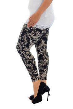 Bold Print Plus Size Leggings - Paisley Women's Leggings, Plus Size Leggings, Lady, Paisley Print, Capri Pants, Wraps, Floral, Bold Prints, Shopping