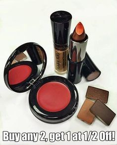 Gingerbread, French Roast, and Cranberry…reasons we're so happy it's fall! Buy any 2 at regular price, get one 1/2 off Good through Sept. 30, 2014 Only with Shelly Katzung, Mary Kay Independent Beauty Consultant #falllooks #fallmakeup #gingerbread #frenchroast #cranberry #richspice #copperglow #rosegold #mklove