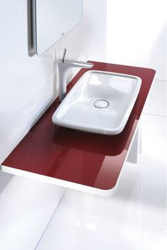Duravit's Puravida furniture basin #beautifulbasins #duravit #cphart