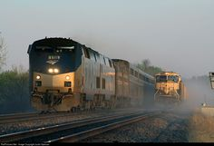 RailPictures.Net Photo: AMTK 118 Amtrak GE P42DC at Chillicothe , Iowa by Justin Spencer