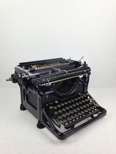Antique 1920s Typewriter Underwood by WyrembelskisVintage on Etsy