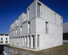 Max dudler architekt hotel quartier 65 mainz modern for Design hotel quartier 65 mainz