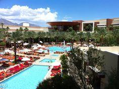 Pools at Red Rock Casino, Las Vegas.