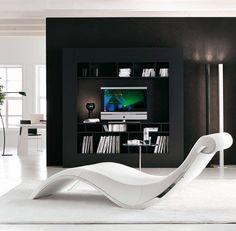 Modern T.V. Room.