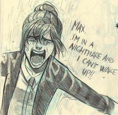 Another sketch of Kate Marsh - Life is Strange(yep that scene destroyed me. Sigh poor Kate)