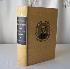 Vintage William Shakespeare The Complete Works 1952 Plays And
