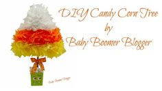 Candy Corn Tree by Baby Boomer Blogger
