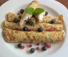 Your share text Hungarian Recipes, Hungarian Food, Crepe Cake, Paleo Sweets, Paleo Diet, Low Carb Recipes, Food And Drink, Breakfast, Ethnic Recipes