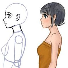 This guide teaches beginners how to draw the side of a face for anime or manga characters.