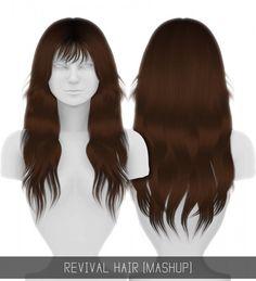 Simpliciaty: Revival hair for Sims 4