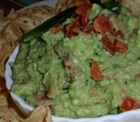 Guacamole with Bacon Recipe