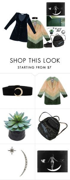 """""""celestial jewelry"""" by momoheart ❤ liked on Polyvore featuring Room Essentials and Federica Tosi"""