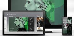 Microsoft lança o serviço de música digital Xbox Music.