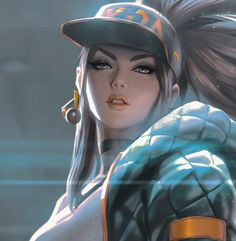 ᴀᴋᴀʟɪ - League of Legends Lol League Of Legends, Akali League Of Legends, League Of Legends Characters, Female Characters, Anime Characters, Akali Lol, Legend Drawing, Video Games Girls, Fan Art