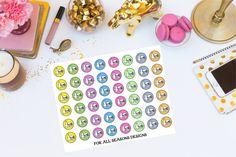 Happy Hour Planner Stickers Beer Happy by ForAllSeasonsDesigns