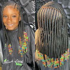 Black Kids Braids Hairstyles, Natural Braided Hairstyles, Cute Little Girl Hairstyles, Little Girl Braids, Baby Girl Hairstyles, Natural Hairstyles For Kids, Black Girl Braids, Braids For Kids, Braids For Black Hair