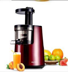 presse  agrumes électrique  de couleur avec bocal transparent utilisation rapide robinet intégré pour servir le jus de fruit
