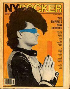 New York Rocker, May 1981 © Laura Levine